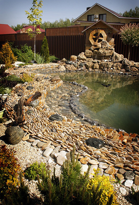 Фото водоем Загородный дом
