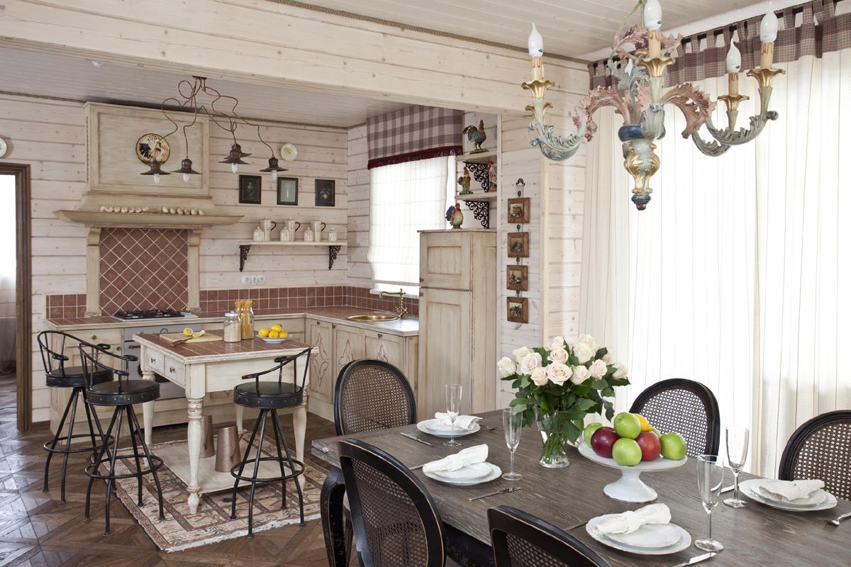 Стиль прованс в интерьере помещений дома и квартиры