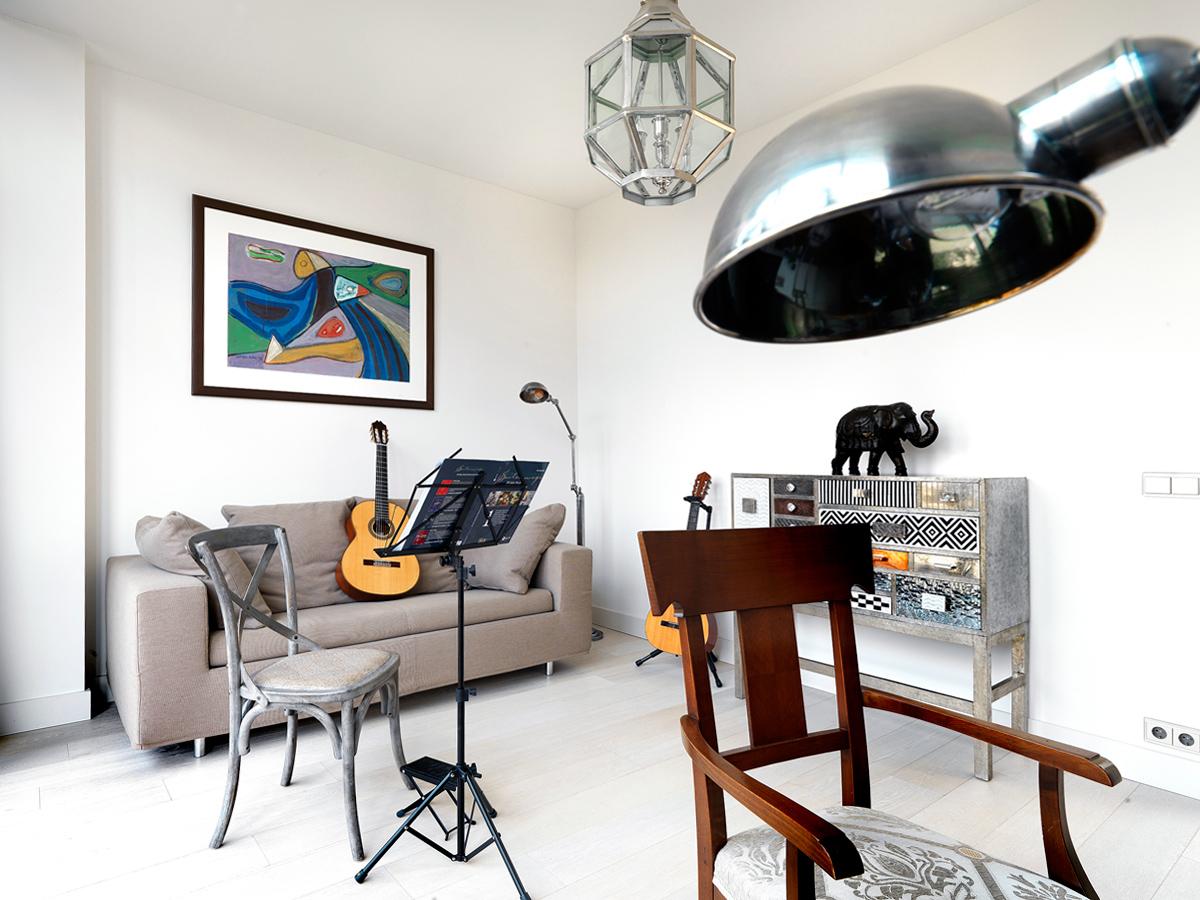Фото музыкальная комната Загородный дом