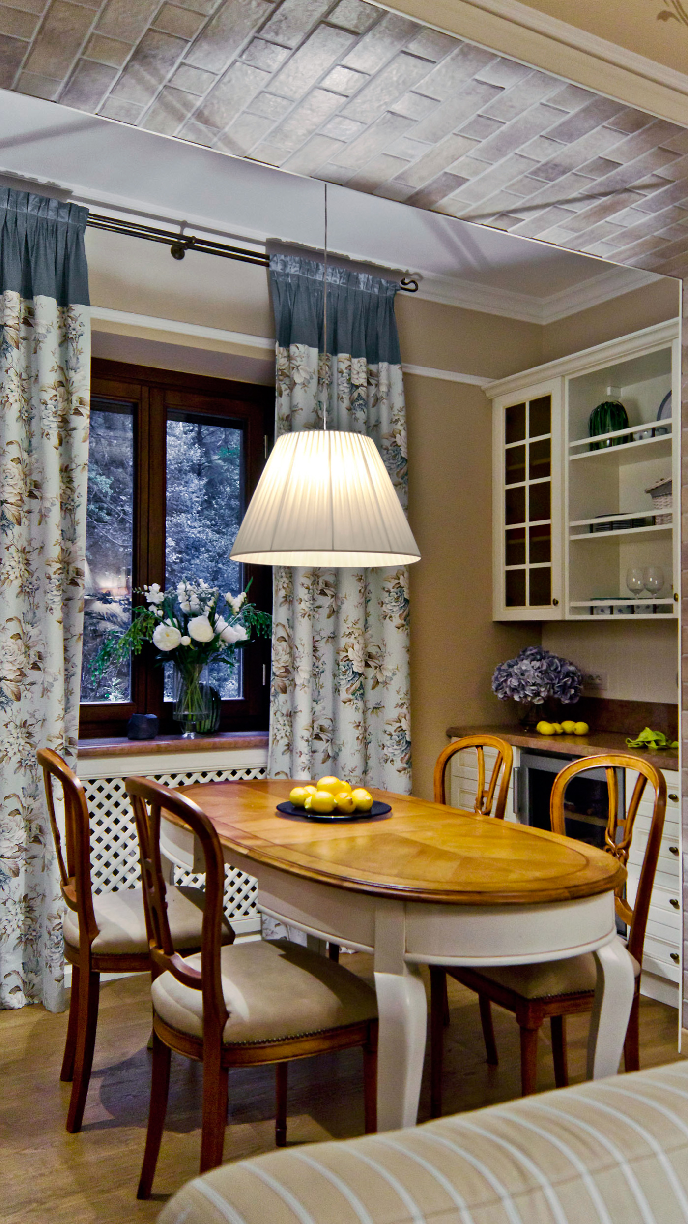 Загородный дом «», столовая, фото из проекта