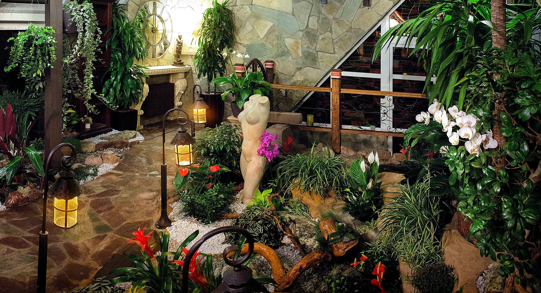 Загородный дом «», зимний сад, фото из проекта