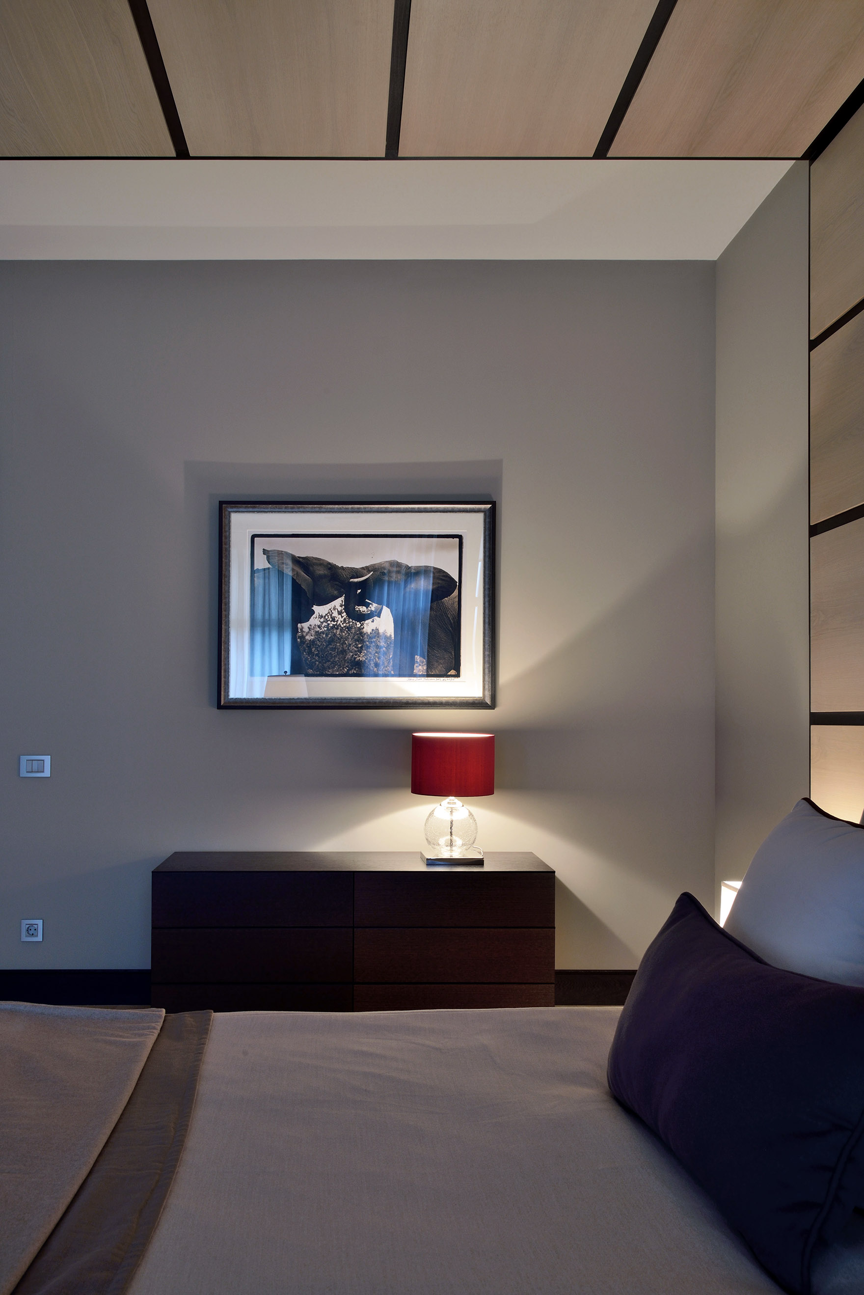 Фото спальня Загородный дом