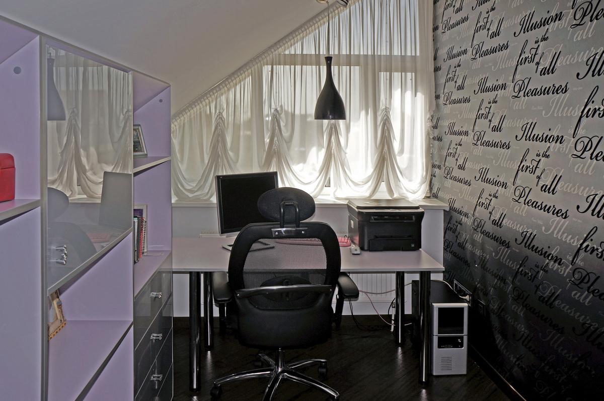 Загородный дом «», кабинет, фото из проекта
