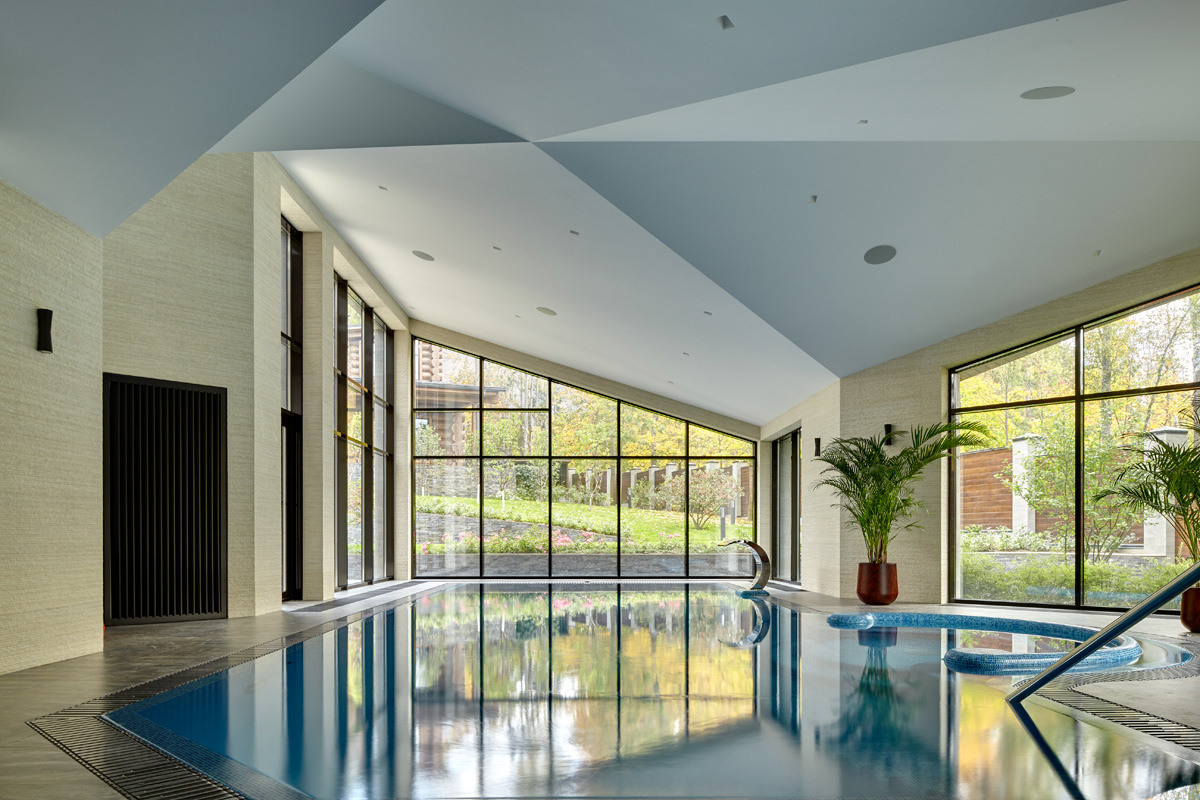 Загородный дом «», бассейн, фото из проекта