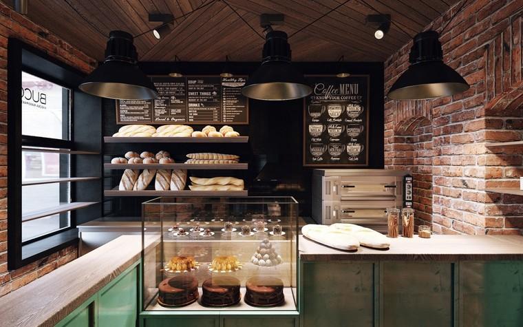 Кафе. Кафе из проекта Кофейня в стиле лофт по проекту студии интерьера Zooi, фото №78086
