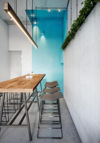 Кафе. Кафе из проекта Кофейня во Владивостоке. Уютный минимализм в стиле лофт., фото №79796