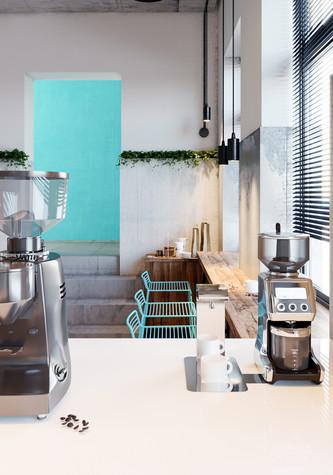 Кафе. Кафе из проекта Кофейня во Владивостоке. Уютный минимализм в стиле лофт., фото №79797