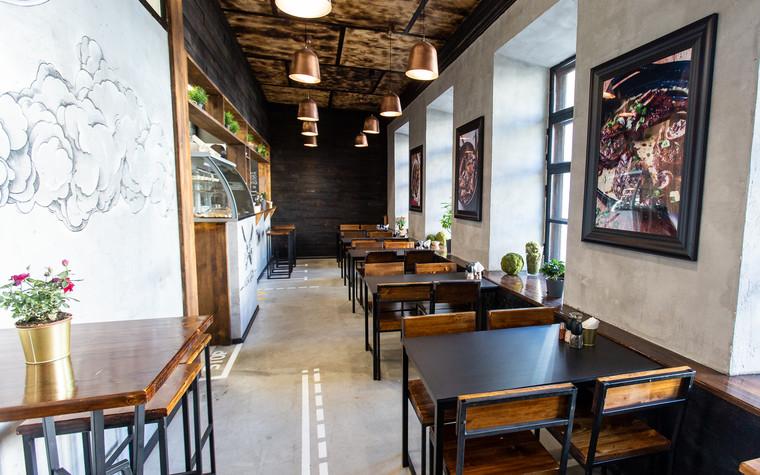 Кафе. Кафе из проекта Монокафе Хорошие Руки, фото №94069
