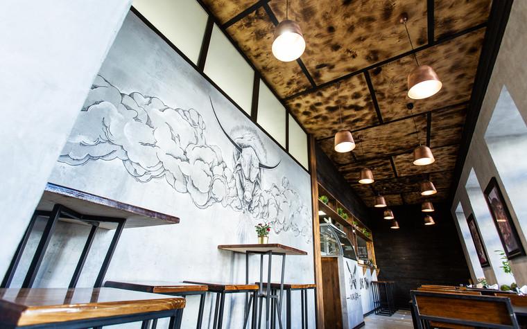 Кафе. Кафе из проекта Монокафе Хорошие Руки, фото №94075