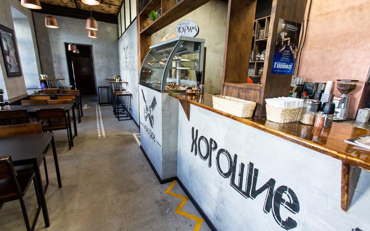 Кафе. Кафе из проекта Монокафе Хорошие Руки, фото №94076