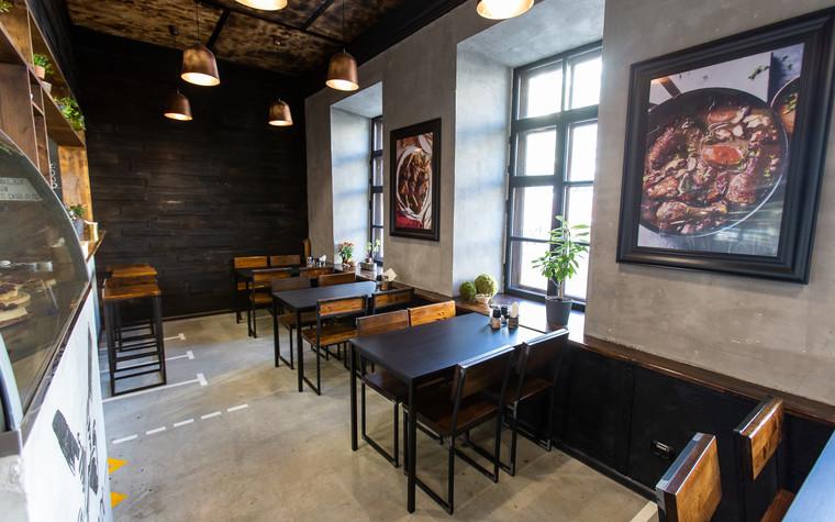 Кафе. Кафе из проекта Монокафе Хорошие Руки, фото №94060