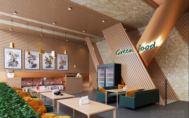 Кафе. Кафе из проекта Green Food, фото №98683