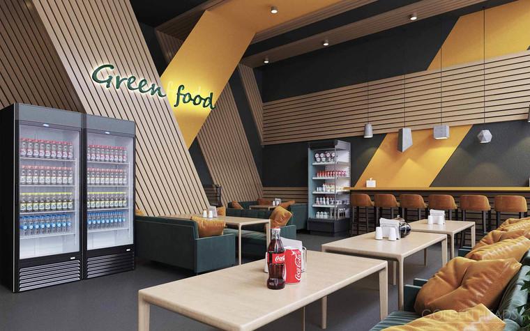 Кафе. Кафе из проекта Green Food, фото №98684