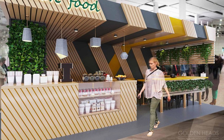 Кафе. Кафе из проекта Green Food, фото №98685