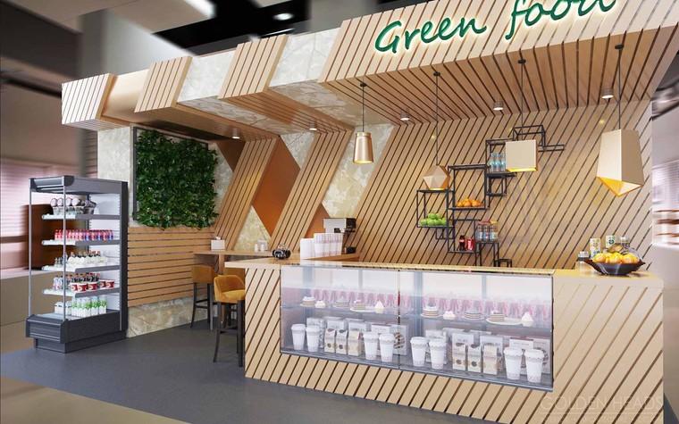 Кафе. Кафе из проекта Green Food, фото №98686