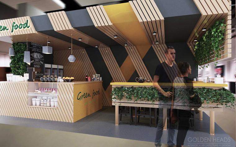 Кафе. Кафе из проекта Green Food, фото №98688