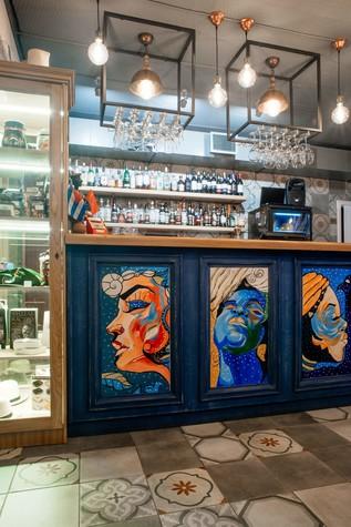 Кафе. Кафе из проекта Кафе-сигарный лаунж «Куба» на Кузнечном переулке, фото №98837