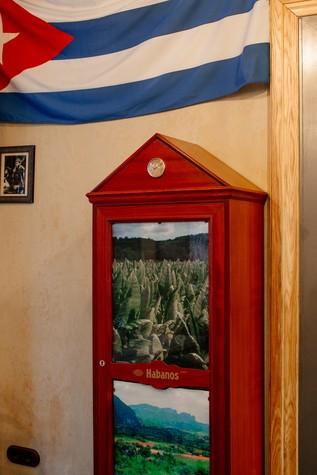 Кафе. Кафе из проекта Кафе-сигарный лаунж «Куба» на Кузнечном переулке, фото №98841