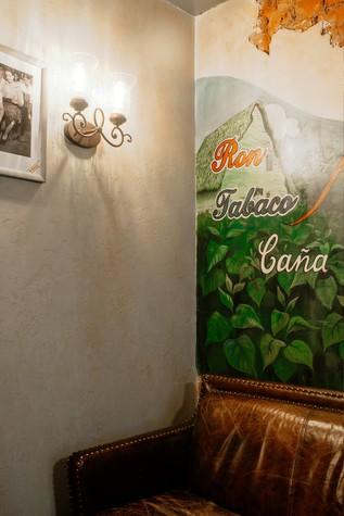 Кафе. Кафе из проекта Кафе-сигарный лаунж «Куба» на Кузнечном переулке, фото №98842