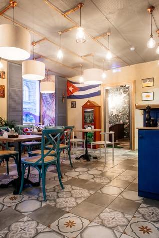 Кафе. Кафе из проекта Кафе-сигарный лаунж «Куба» на Кузнечном переулке, фото №98835