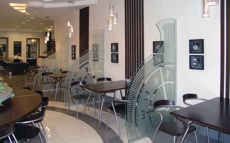 Кафе. Кафе из проекта Кафе в бизнес комплексе Деловой квартал, фото №100618