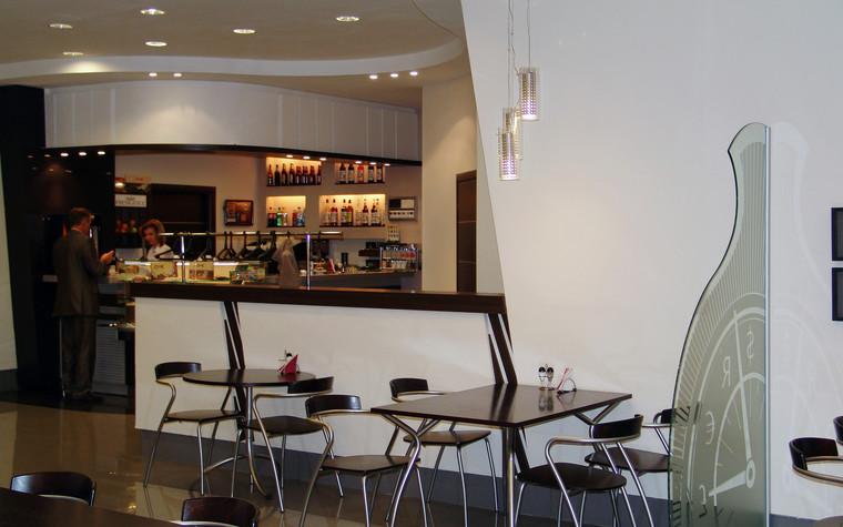 Кафе. Кафе из проекта Кафе в бизнес комплексе Деловой квартал, фото №100622