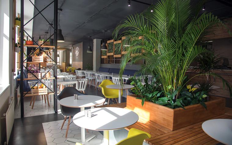 Кафе. Кафе из проекта Столовая Spoon Dagger, фото №101413