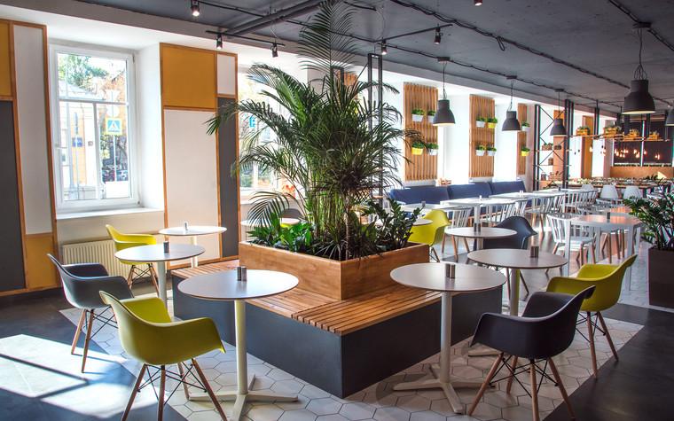 Кафе. Кафе из проекта Столовая Spoon Dagger, фото №101418