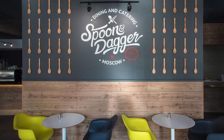 Кафе. Кафе из проекта Столовая Spoon Dagger, фото №101405