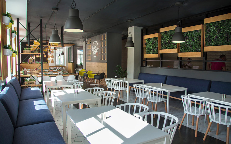 Кафе. Кафе из проекта Столовая Spoon Dagger, фото №101406