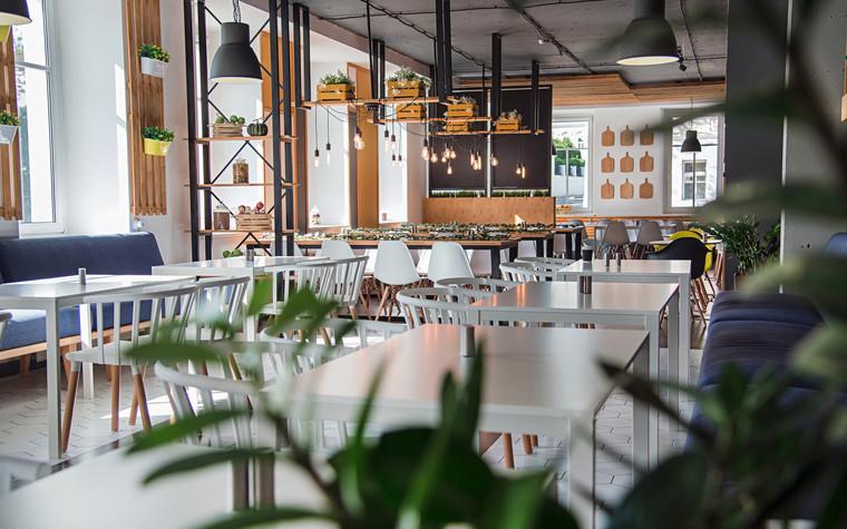 Кафе. Кафе из проекта Столовая Spoon Dagger, фото №101407