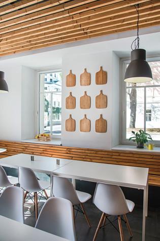 Кафе. Кафе из проекта Столовая Spoon Dagger, фото №101410