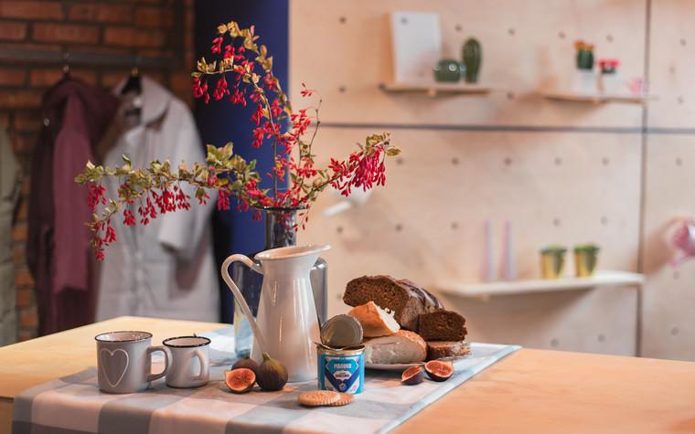 Кафе. Кафе из проекта Кофейня Сгущенка, фото №101479