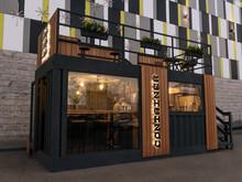 Кафе «Container», Кафе . Фото № 31555, автор DESIGN CHEF