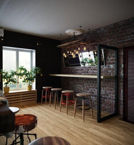 Бар. Бар из проекта Concept Мясной Street Food в городе Ростов-на-Дону , фото №82846