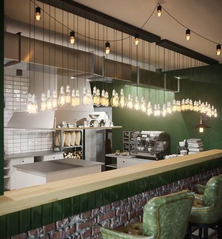 Бар. Бар из проекта Concept Мясной Street Food в городе Ростов-на-Дону , фото №82838