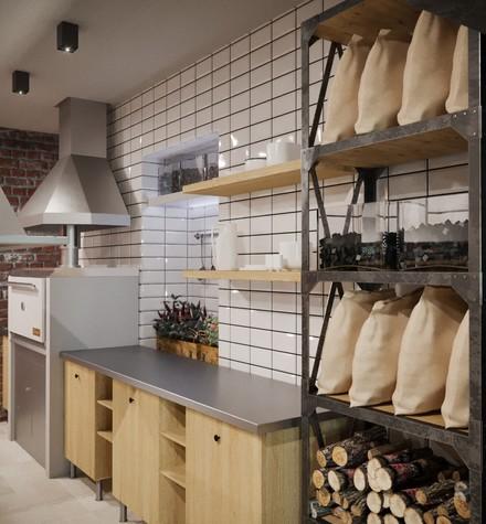 Бар. Бар из проекта Concept Мясной Street Food в городе Ростов-на-Дону , фото №82841