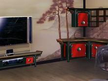Авторская мебель «Бар-кухня в японском стиле», авторская мебель . Фото № 26673