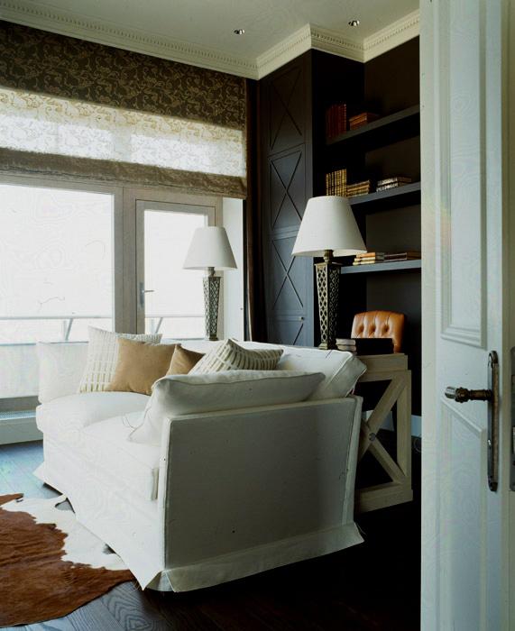 интерьер кабинета - фото № 6413