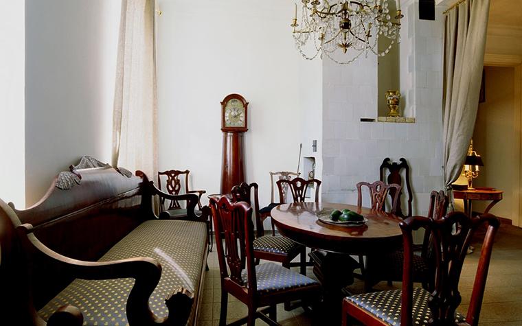 Квартира. столовая из проекта , фото №6016