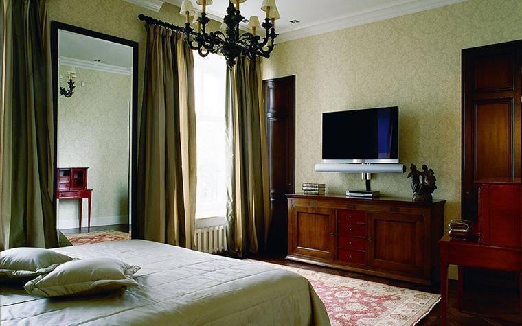 интерьер спальни - фото № 122