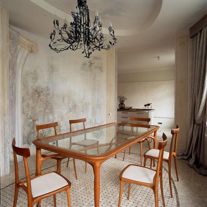 Квартира. столовая из проекта , фото №10041