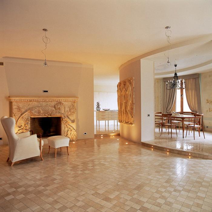 Квартира. гостиная из проекта , фото №10033