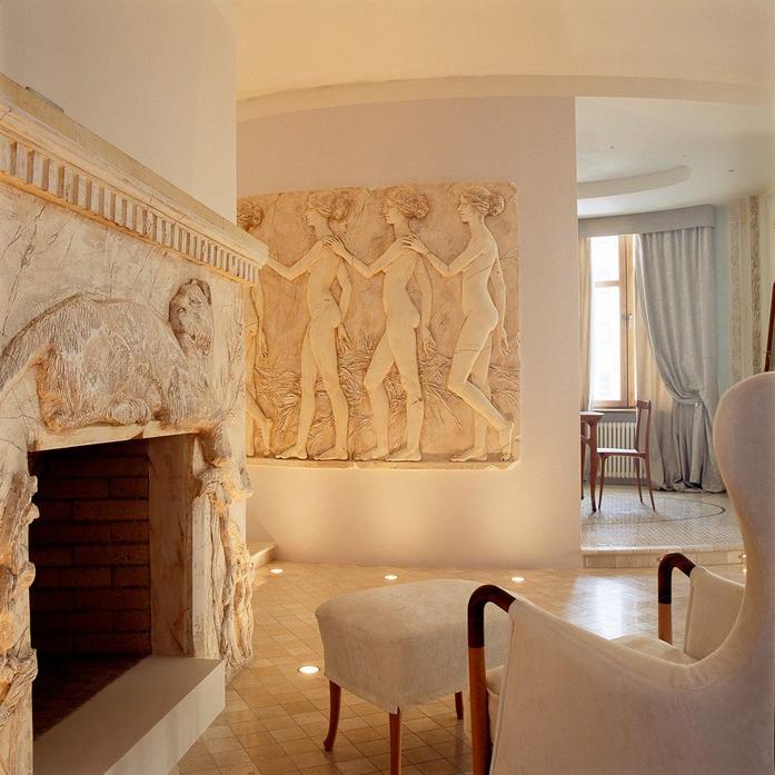 Квартира. гостиная из проекта , фото №10034