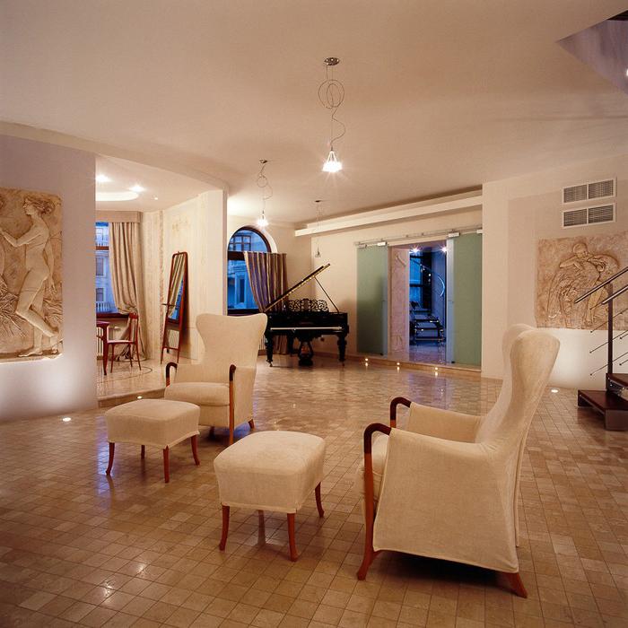 Квартира. гостиная из проекта , фото №10035