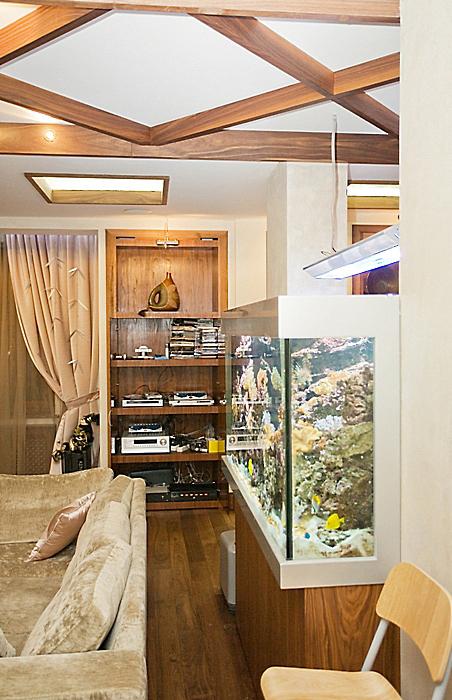 Фото № 10066 гостиная  Квартира