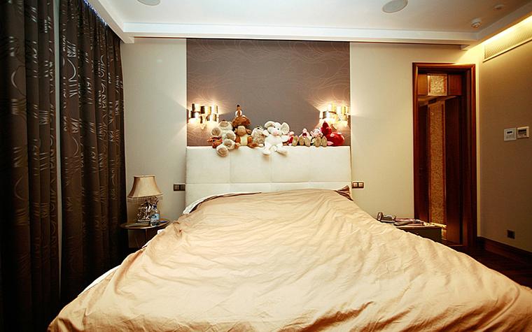 Квартира. спальня из проекта , фото №10072