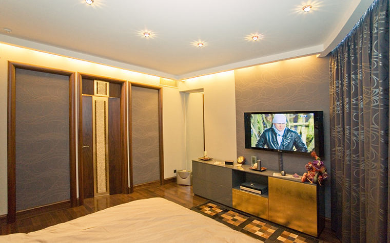 Квартира. спальня из проекта , фото №10073