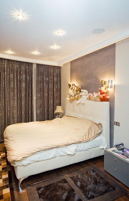 Квартира. спальня из проекта , фото №10074