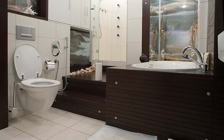 интерьер ванной - фото № 10088